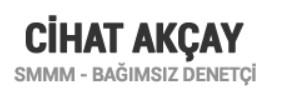 CİHAT AKÇAY S.M.M.M.