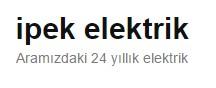 İPEK Elektrik Müh.Ltd. Şti.