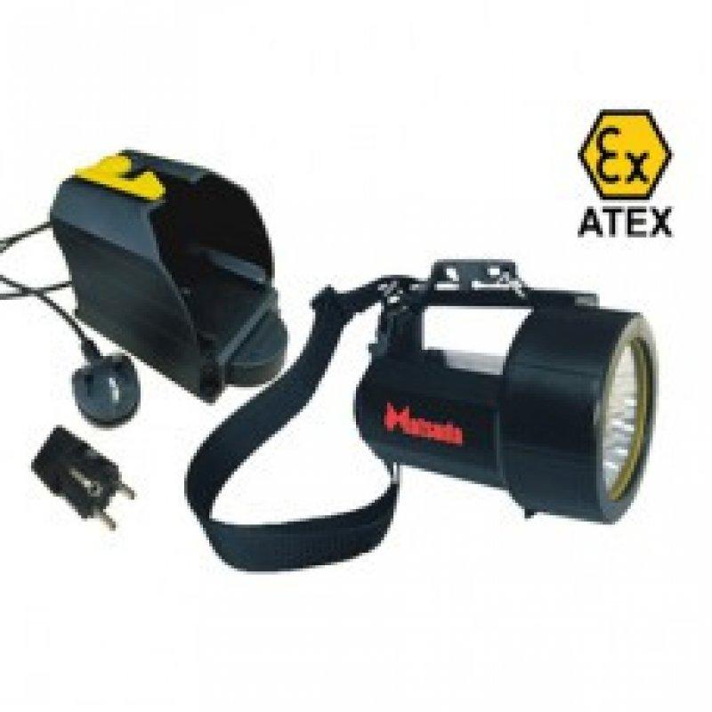 ATEX Ex-Proof Şarjlı ZONE 1 El Feneri & ATEX Ex-Proof ZONE 1 Rechargeable Flashlight