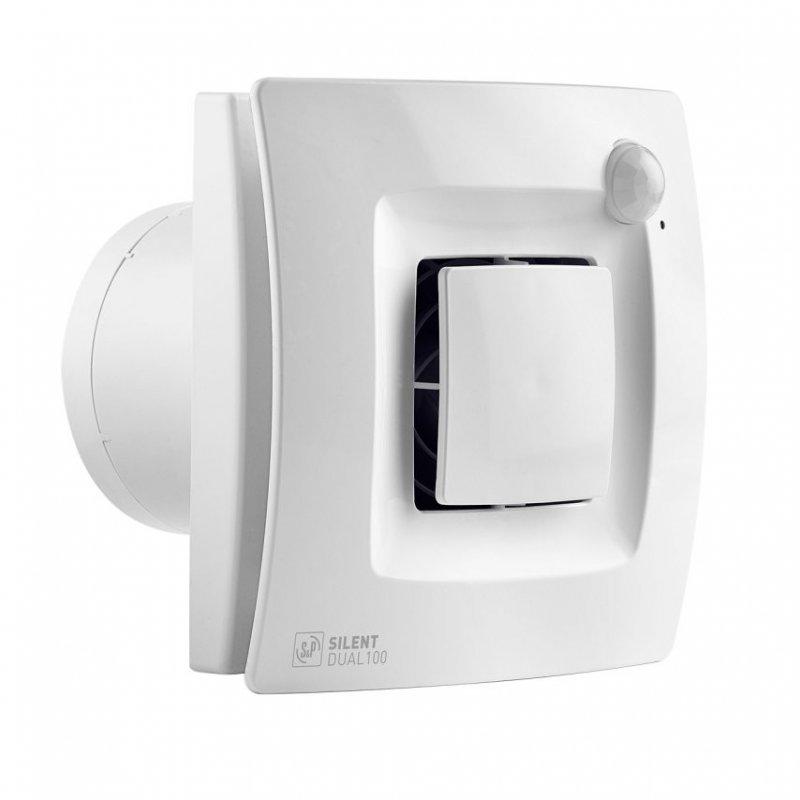 Silent Dual 100 Hareket ve Nem Sensörlü Akıllı Banyo Aspiratörü